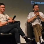Panel Edward Speleers & Cesar Domboy - Outlander - The Land Con 3
