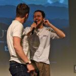 Panel Edward Speleers & Cesar Domboy – Outlander – The Land Con 3