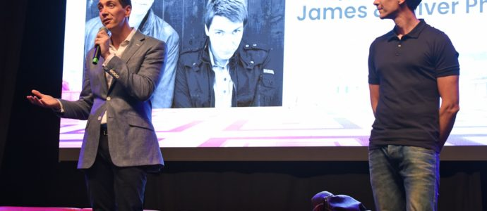 James & Oliver Phelps – Harry Potter – Paris Manga & Sci-Fi