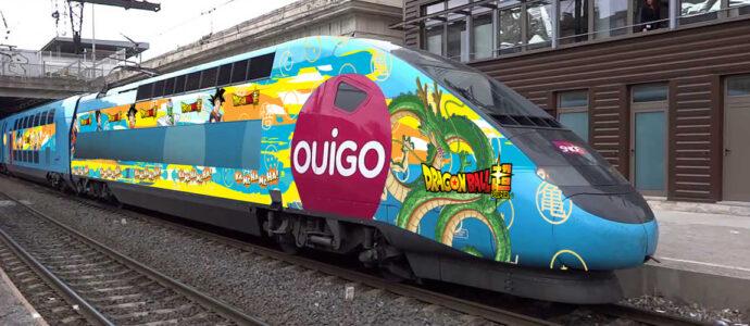 Dragon Ball de passage en gare