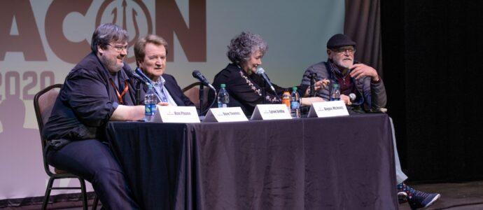 Pensacon 2020 - Angus MacInnes, Lynne Griffin, Dave Thomas & Ken Plume - Photo : Josh Pohl