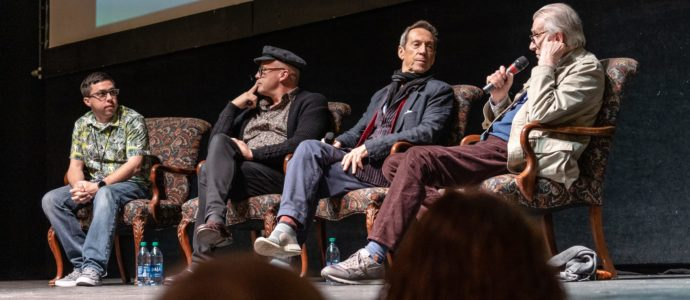 Pensacon 2020 - Bernard Hill, Billy Zane & Jonathan Hyde - Photo : Josh Pohl