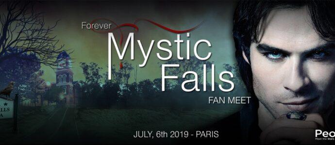 Ian Somerhalder à Paris pour rencontrer ses fans