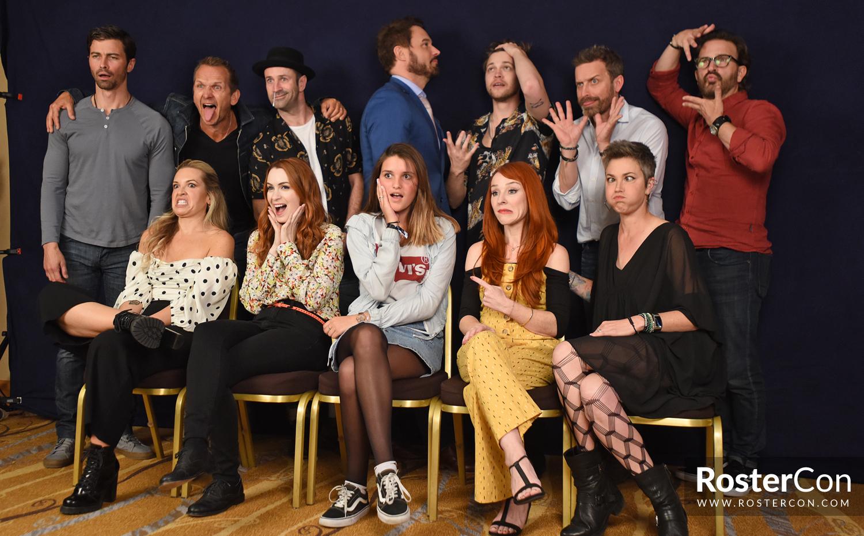 Group Photo - DarkLight Con 3 - Supernatural