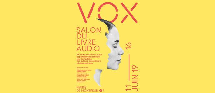 Vox : Le premier salon du livre audio
