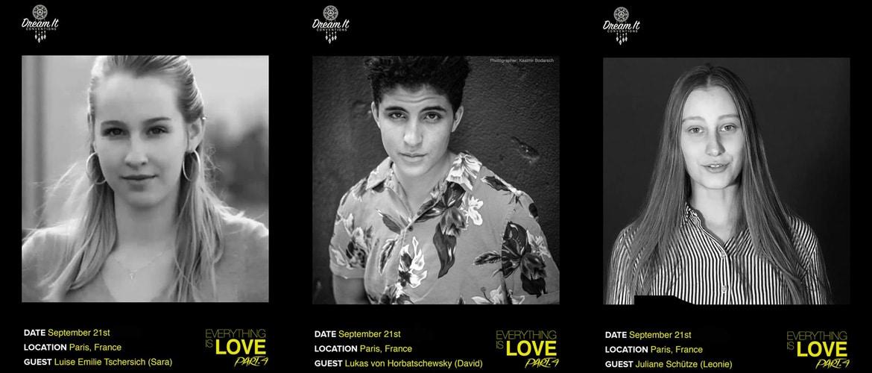 Druck (Skam Germany) : trois acteurs supplémentaires présents à la convention Everything is Love 4