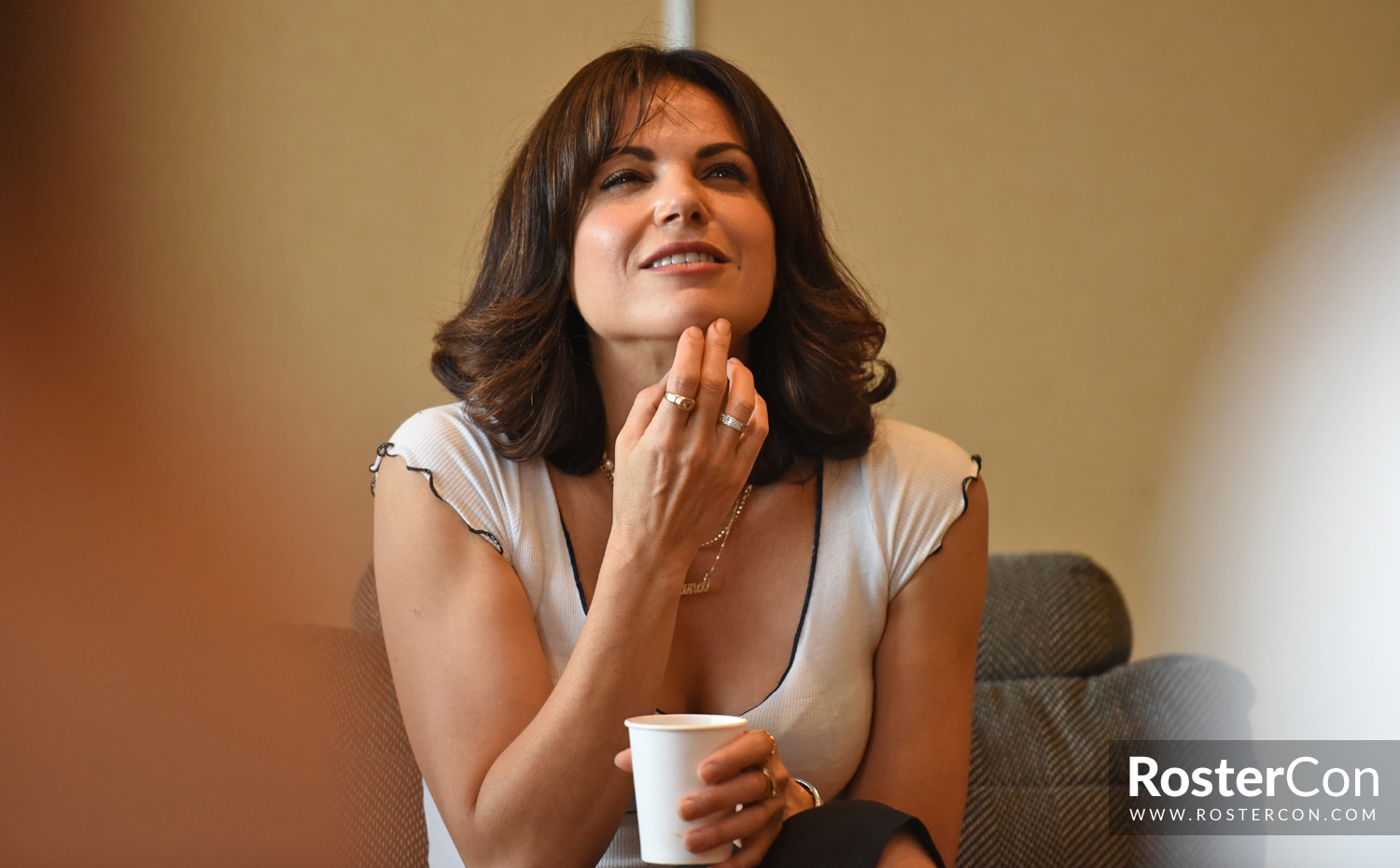 Lana Parrilla - The Happy Ending Convention 3 - Once Upon A Time