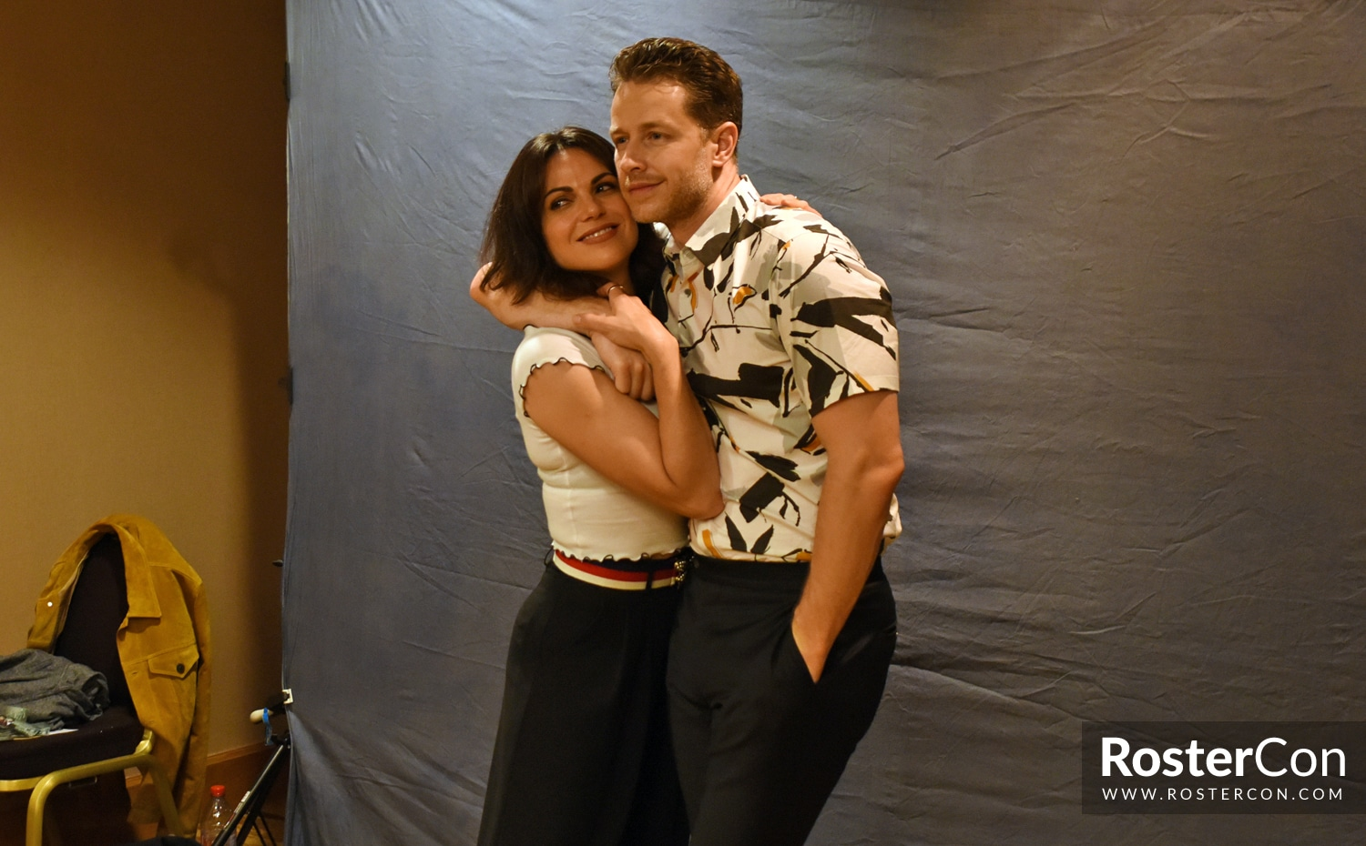 Josh Dallas & Lana Parrilla - The Happy Ending Convention 3 - Once Upon A Time