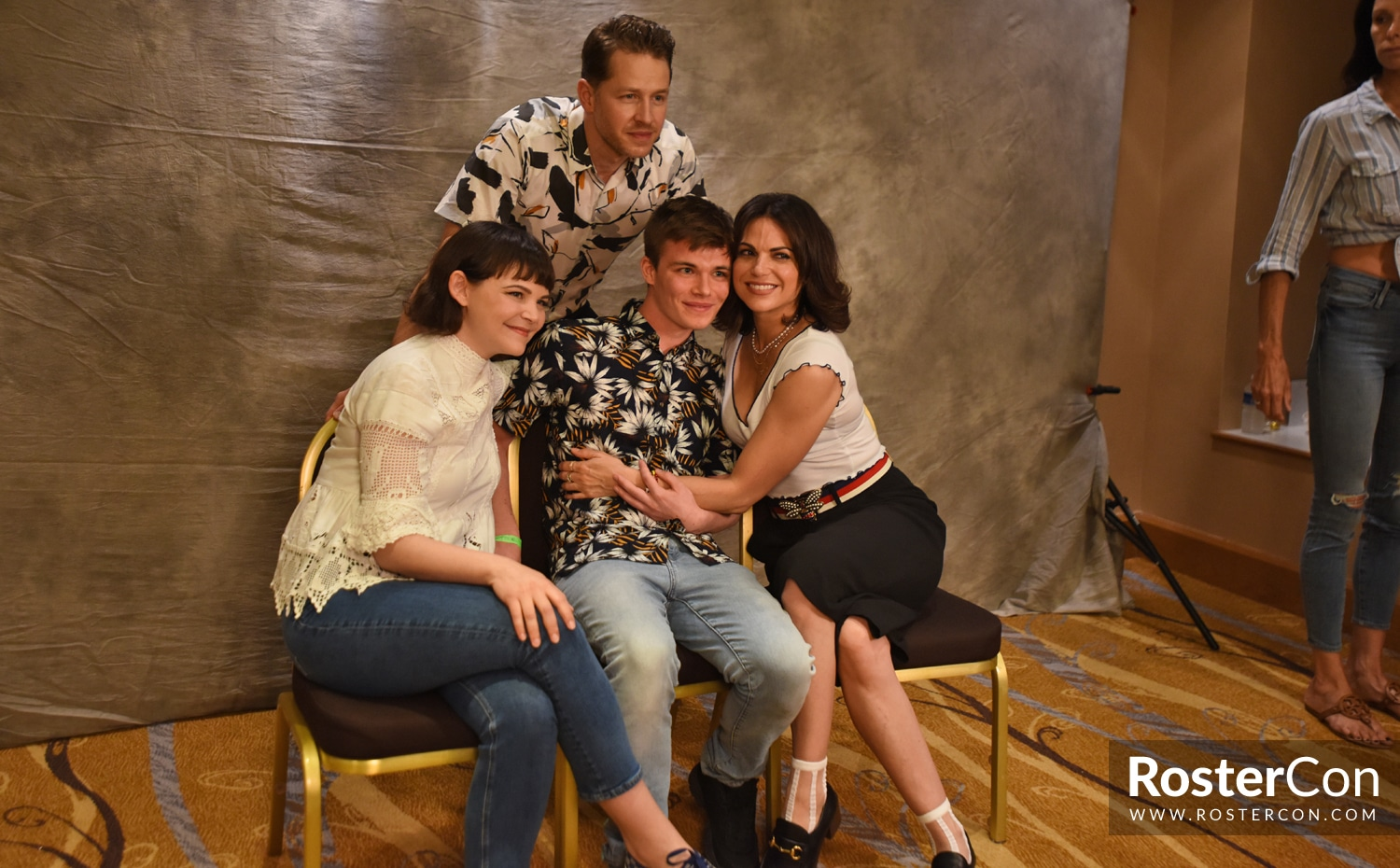 Ginnifer Goodwin, Josh Dallas & Lana Parrilla - The Happy Ending Convention 3 - Once Upon A Time