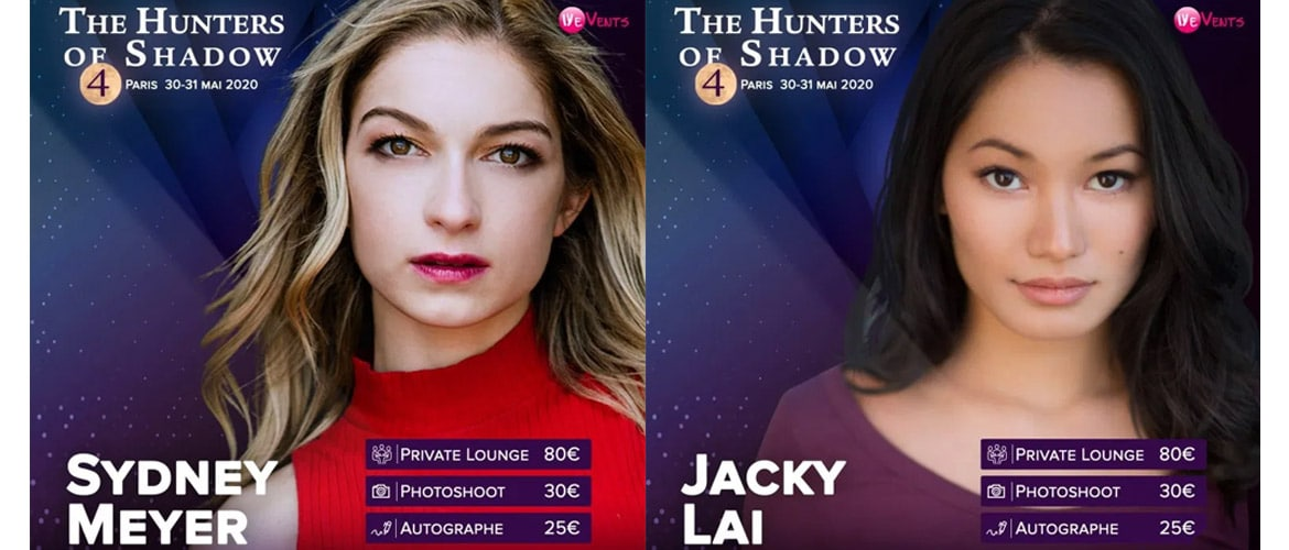 Shadowhunters : deux invitées inédites pour la convention The Hunters of Shadow 4
