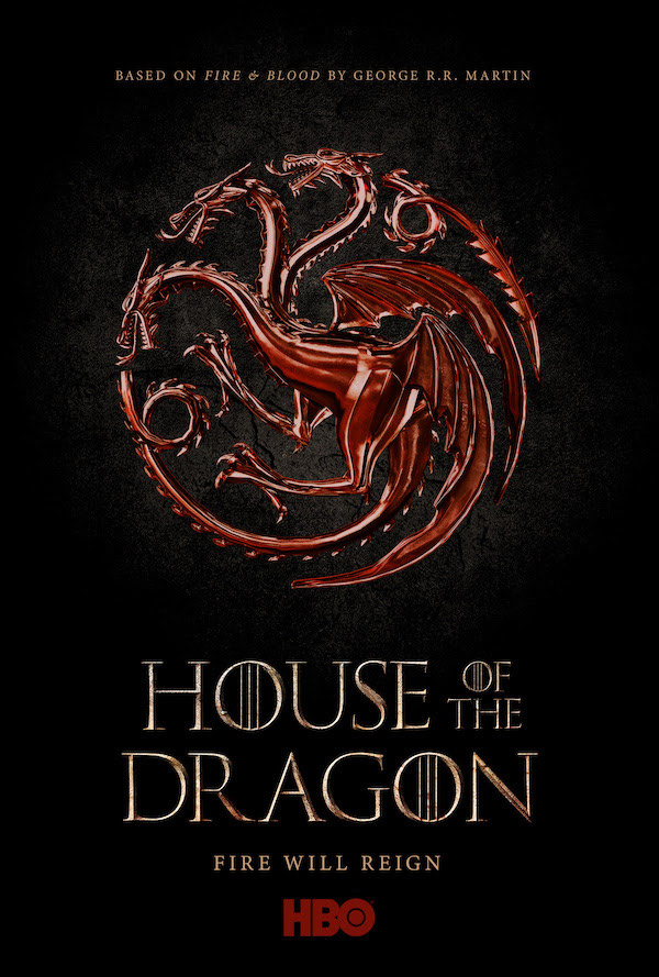 Affiche série House of the Dragon