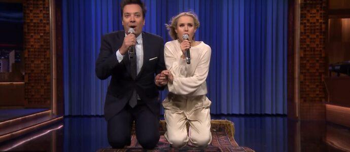 Kristen Bell et Jimmy Fallon revisitent les chansons Disney dans un medley