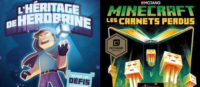 Les nouvelles aventures de Minecraft en librairie