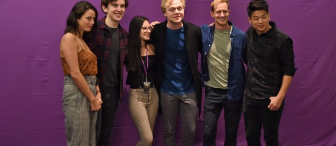 Group Photo - Wicked is Good - The Maze Runner