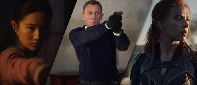 Cinéma : découvrez les bandes-annonces de Mulan, James Bond et Black Widow