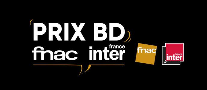 Les finalistes au Prix BD Fnac France Inter 2020