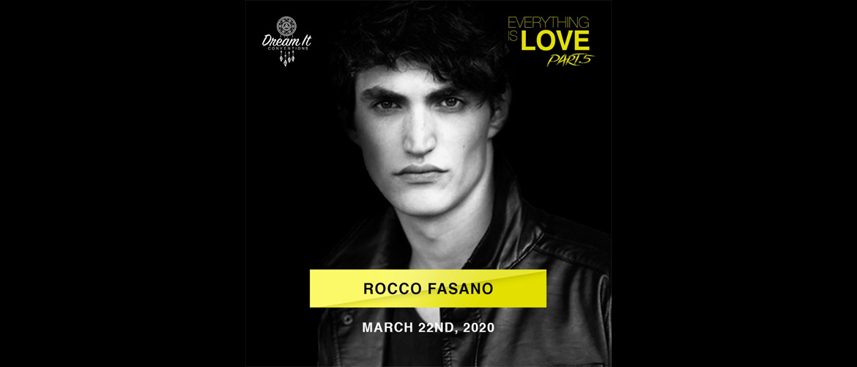 Rocco Fasano (SKAM Italia) est le troisième invité de l'événement Everything is Love 5