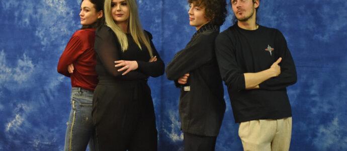 Romann Berrux, Sophie Skelton & César Domboy - The Land Con 3 - Outlander