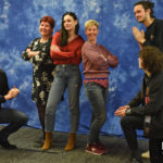 Richard Rankin, Romann Berrux, Sophie Skelton & César Domboy - The Land Con 3 - Outlander