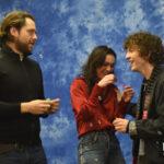 Richard Rankin, Romann Berrux & Sophie Skelton - The Land Con 3 - Outlander