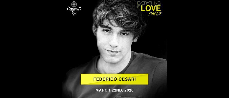 SKAM Italia : Federico Cesari participera à la Everything is Love 5