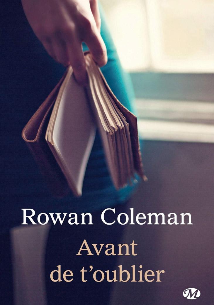 Couverture Avant de t'oublier / Rowan Coleman