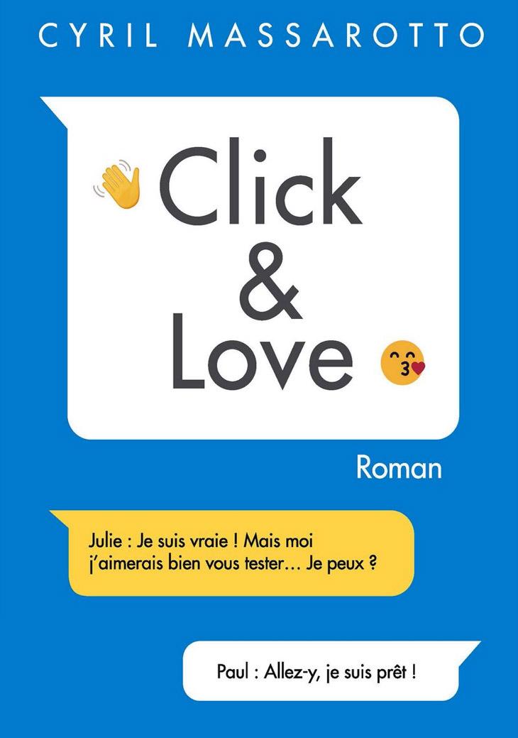 Couverture Click & Love / Cyril Massarotto