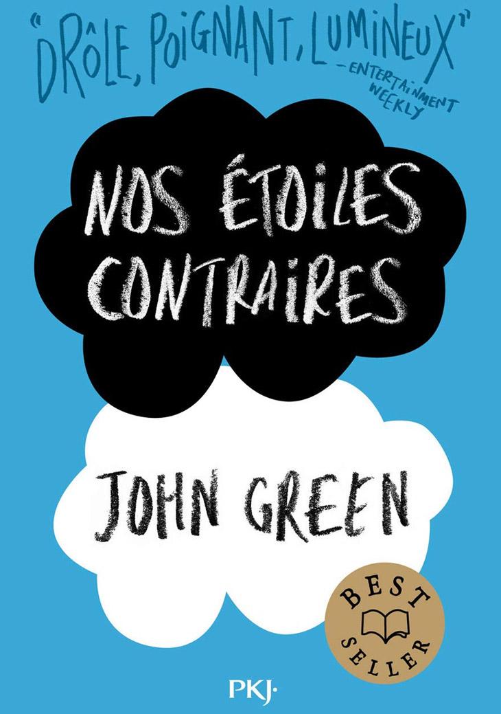 Couverture Nos étoiles contraires / John Green