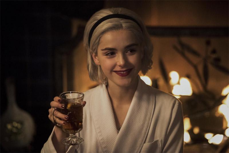 Kiernan Shipka dans Les Nouvelles Aventure de Sabrina - Crédit Photo : Netflix