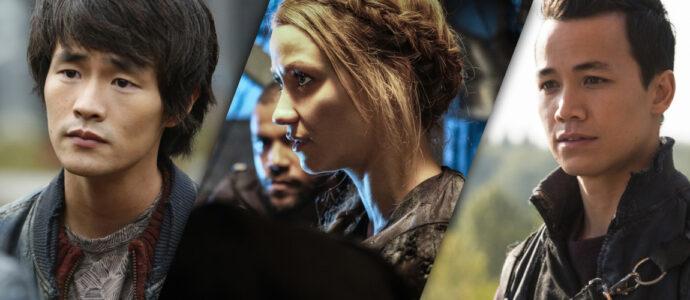 Space Walkers 5 : Christopher Larkin, Shannon Kook et Chelsey Reist annoncés, Annulation de Lindsey Morgan