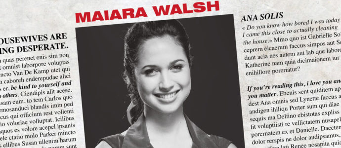 Desperate Housewives : Maiara Walsh (Ana Solis) annoncée à l'événement de Neverland Adventure
