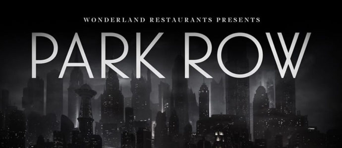"""Park Row"": A Batman-themed restaurant for the fans"