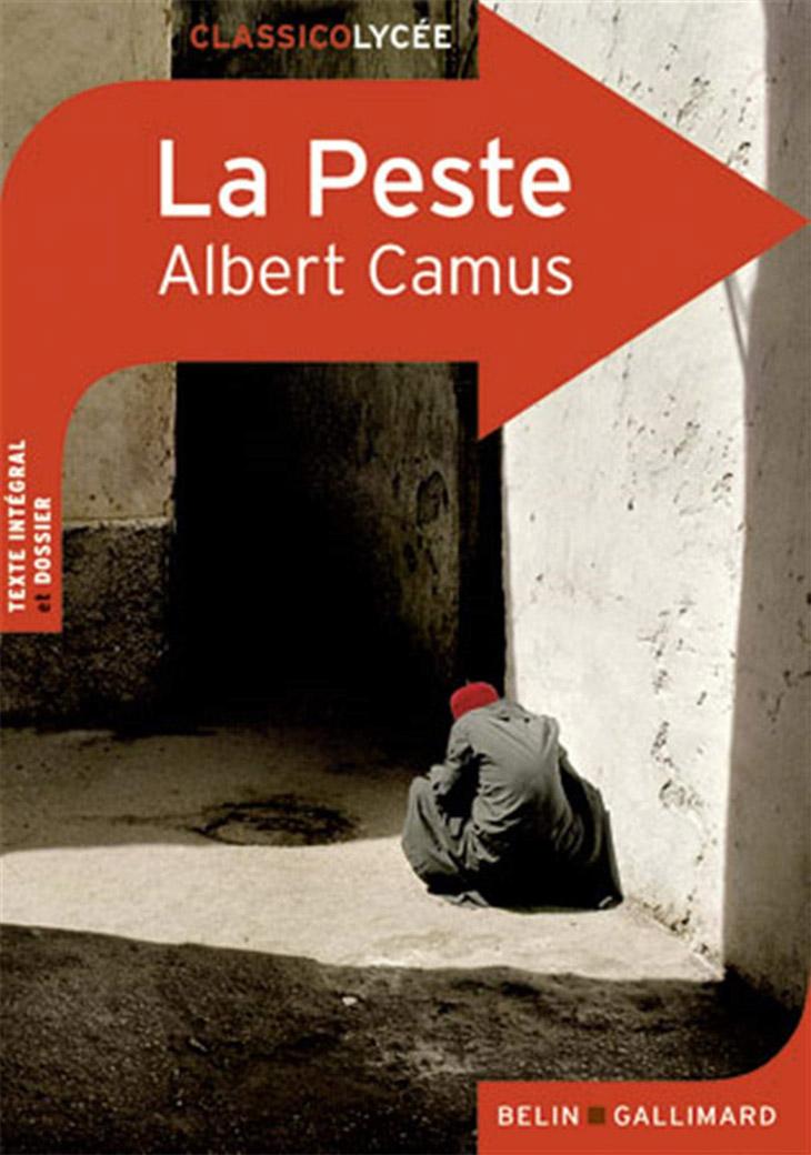 Couverture La Peste / Albert Camus