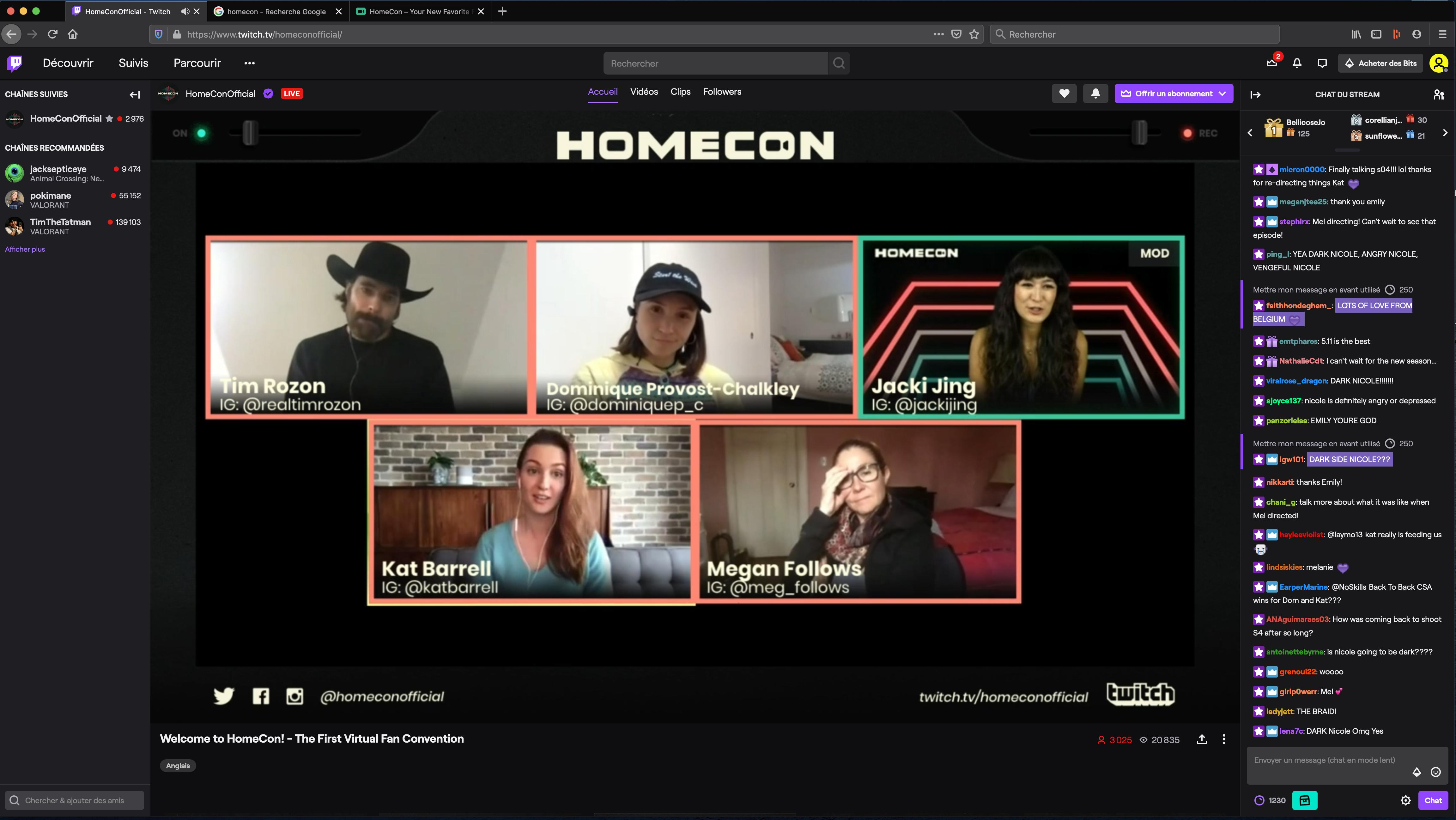 HomeCon 2020 : retour sur la convention en ligne