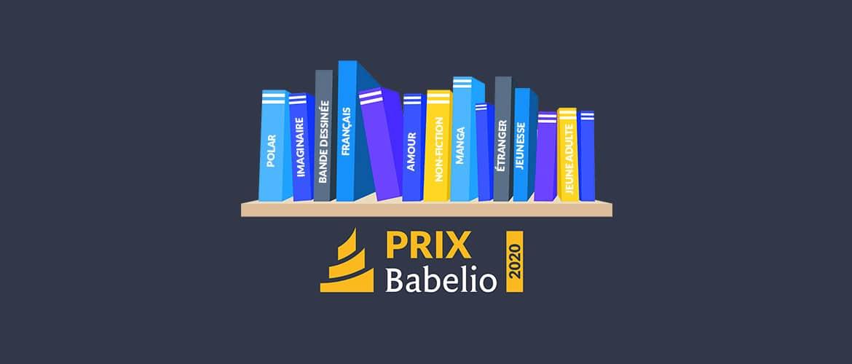 Votez pour le Prix Babelio 2020