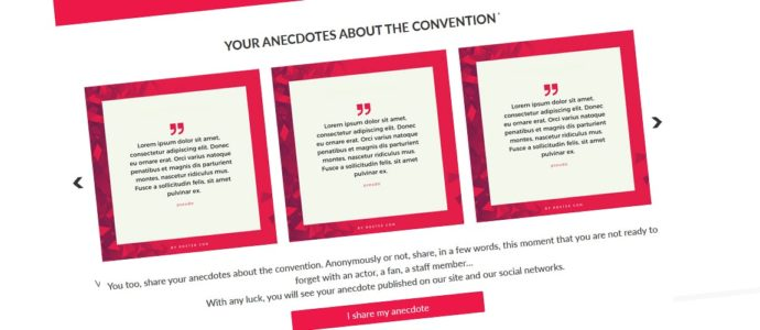 Share your anecdotes from conventions
