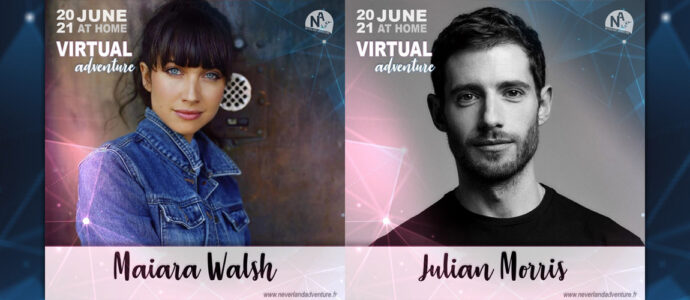 Maiara Walsh et Julian Morris annoncés à la convention Virtual Adventure