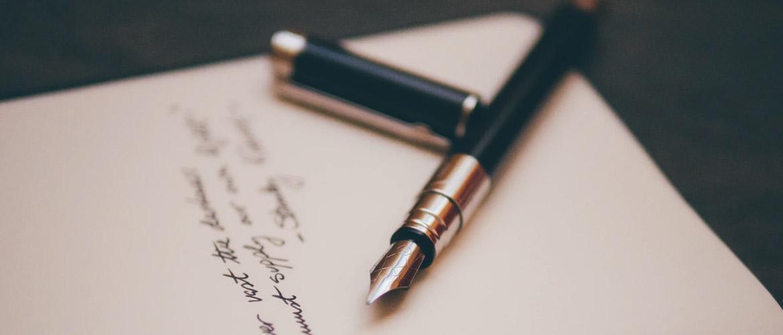 Lettre à mon auteur
