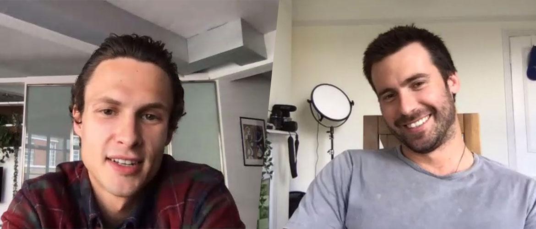 Virtual Adventure : Arnas Fedaravicius et Mark Rowley (The Last Kingdom) en panel