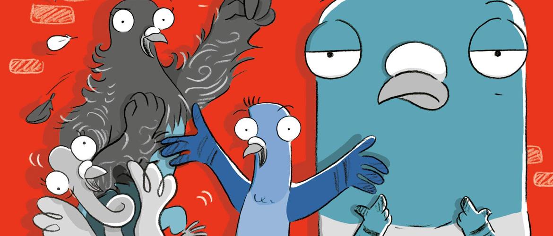 « Real Pigeons Fight Crime » prochainement adapté pour Nickelodéon