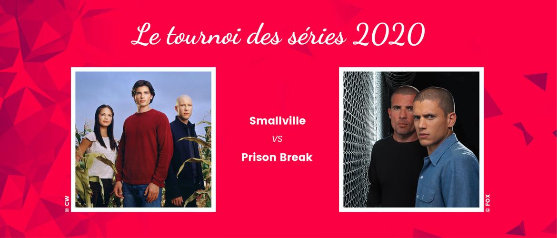 Smallville vs Prison Break : qui remportera le second duel du tournoi des séries de Roster Con ?