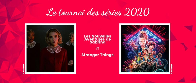 Chilling Adventures of Sabrina vs Stranger Things : un duel de séries Netflix pour ce nouveau match