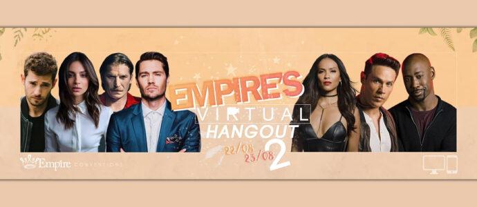 Six nouveaux invités pour l'événement Empire's Virtual Hangout 2
