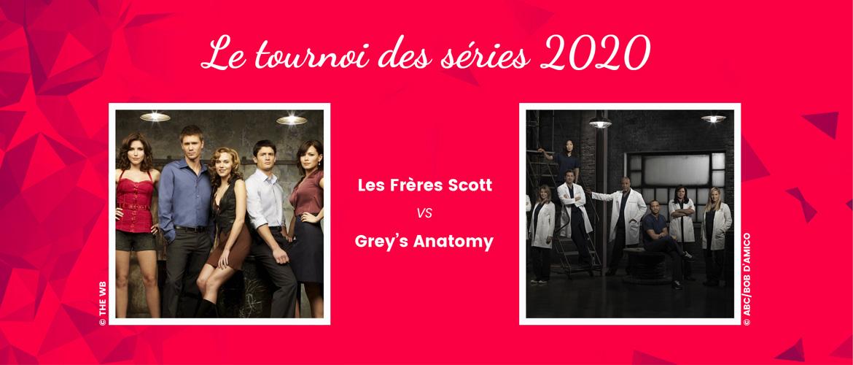 One Tree Hill vs Grey's Anatomy : quelle série se qualifiera pour les huitièmes de finale ?
