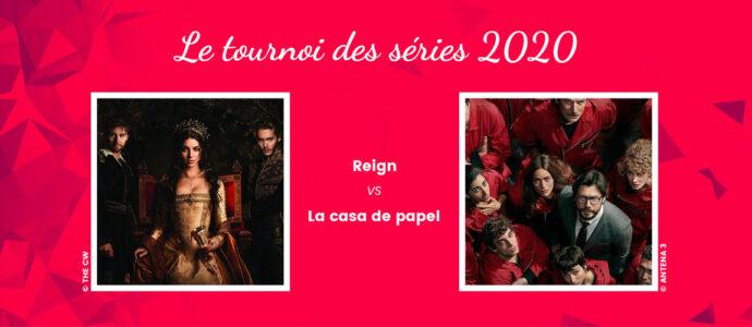 Reign vs La Casa de Papel : deux styles bien différents en lice dans le tournoi des séries