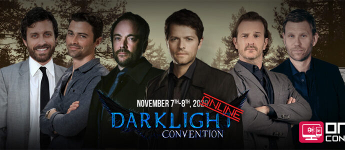 Supernatural : six invités, dont Misha Collins, annoncés à la DarkLight Con Online