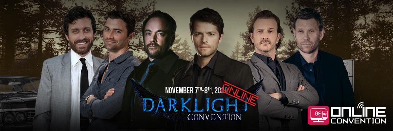 Supernatural: six guests, including Misha Collins, announced at DarkLight Con Online