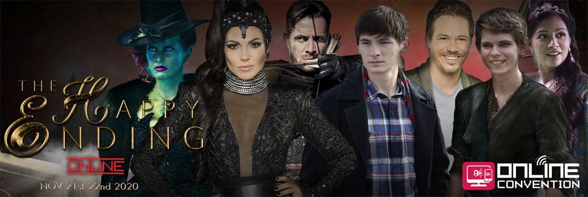 The Happy Ending Con Online  : le programme du week-end 100% Once Upon A Time