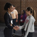 Photo High School Musical: The Musical: The Series - Episode 101: The Auditions - Sofia Wylie & Olivia Rodrigo