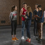 Photo High School Musical: The Musical: The Series - Episode 101: The Auditions - Joe Serafini, Olivia Rodrigo, Matt Cornett, Sofia Wylie & Julia Lester